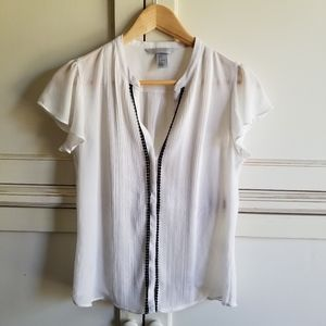 EUC- H&M Button Up Blouse